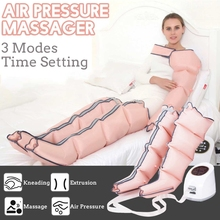 3 โหมด Air Chambers การบีบอัดขา Massager การสั่นสะเทือนอินฟราเรดแขนเอว PNEUMATIC Air Wraps ผ่อนคลายนวด