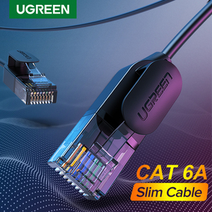 Ugreen Ethernet Cable Cat 6 A 10Gbps Network Cable 4 Twisted Pair Patch Cord Internet UTP Cat6 a Lan Cable Ethernet RJ45(China)