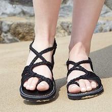 Women's Flat Sandals 2020 Summer Gladiator Sandals