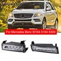 1649060151 1649060251 передний левый и правый светодиодный дневной светильник для Mercedes W164 X164 X204 ML350 ML450 GL450 GLK220 Дневной светильник