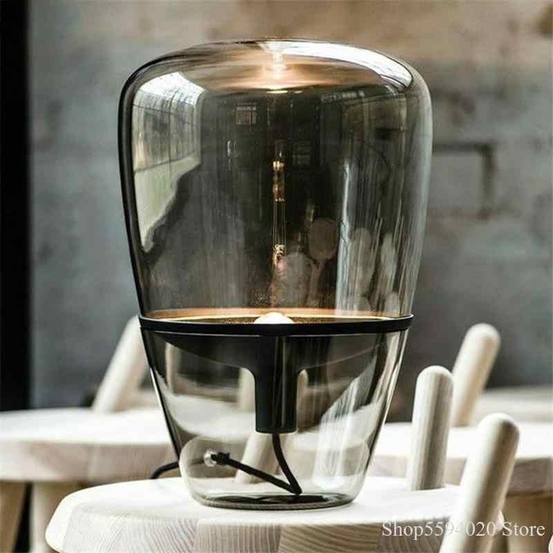 Glanz Led Moderne Glas Tisch Lampe Post Moderne Schreibtisch Lampe für Wohnzimmer Bett Lampe Lamparas De Pie Led Deco schlafzimmer Beleuchtung