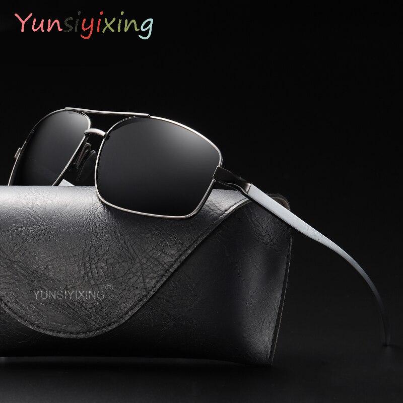 YUNSIYIXING Classic Polarized Sunglasses Men Women Brand Design Driving  Sun Glasses Male Goggle UV400 Gafas De Sol YS2458
