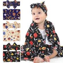 2020 Малыша Дети Новорожденных Baby Мальчиков Девочек Хлопок Стрейч Принт Обернуть Пеленать Животное Одеяло Банные Полотенца Спальные Одеяла