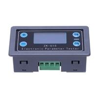 AAY Dc 5V 38V Digital Display Lcd Voltmeter Ammeter Volt Current Voltage Meter Tester Multi Function Power Protection|Battery Accessories| |  -