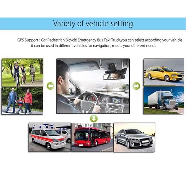 9 дюймов емкостный экран GPS навигатор 8G 256 м MP3/MP4-плееры вождения голосовой навигатор
