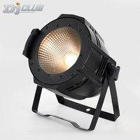 par led 2in1 white with warm 100w led par can dmx cob par light for for Stage TV disco