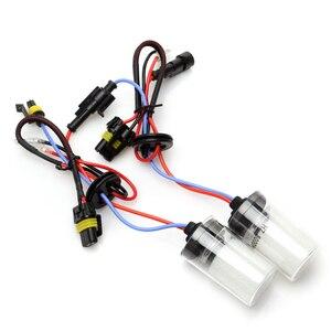 Image 4 - Auto Xenon Headlight Bulb 35W HID 4300K H7 H11 6000K 9012 9005 9006 8000K H1 12V Automobiles Lamp 3600LM Hir2 HB3 HB4 Fog Light