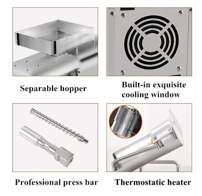 stainless steel oil press maker _