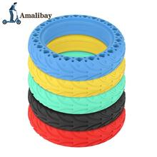 Electric Scooter Tyre 8.5 Solid Tire For Xiaomi Mijia M365 / M365 Pro Hollow Non-Pneumatic Tyre Shock Absorber Anti-slip Tyre electric scooter snow tire ice tyre for xiaomi m365 m365 pro scooter non pneumatic solid tire shock absorber non slip tyre