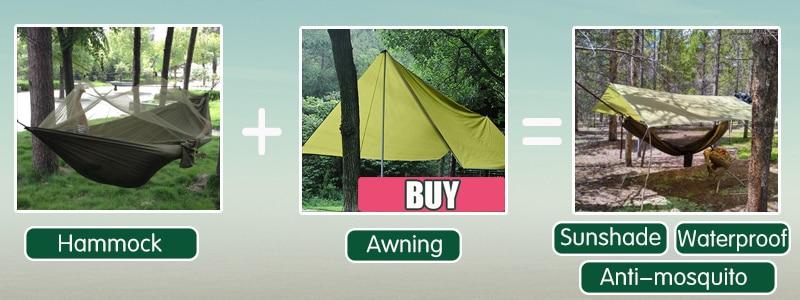 Hamac anti-moustique