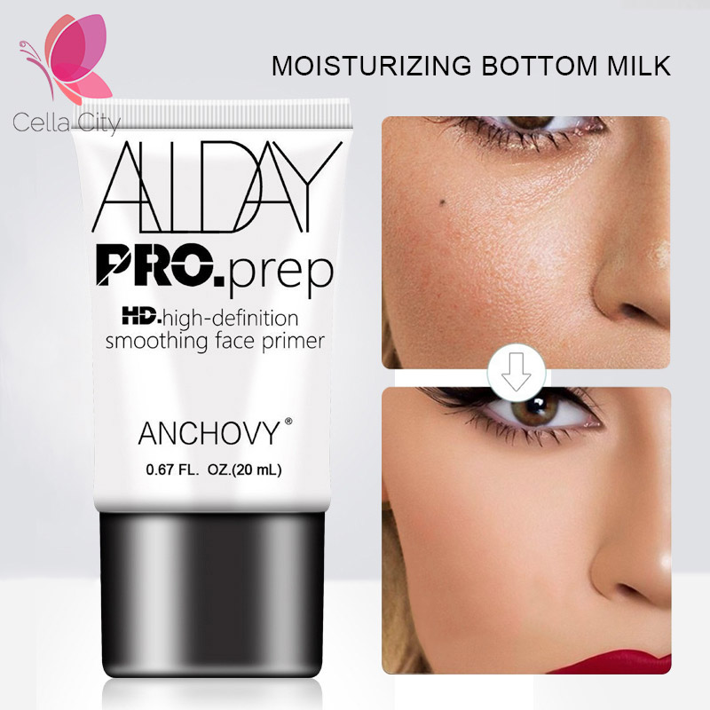 Cellacity profesjonalna baza podkład do makijażu 20ml niewidoczne porów twarzy Eye primer wygładzanie baza matowa makijaż krem kobieta kosmetycznych 1