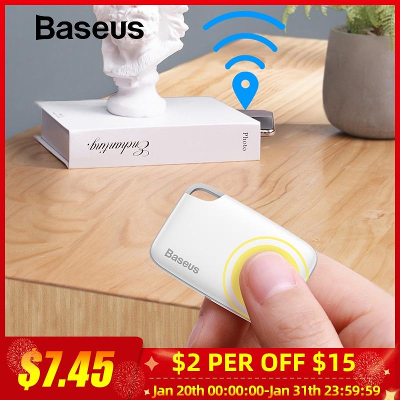 Baseus Smart GPS Tracker Mini Anti-loss Tracking Device Key Finder Animal Kid Document GPRS Tracker Dog Smart Key Tag Locator