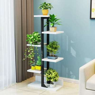 Balcony Flower Rack Wrought Iron Multi-layer Interior Decoration Floor Space Fleshy Flower Pot Rack Flower Shelf Living Room