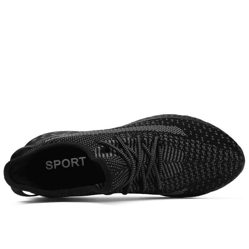 Nieuwe Mannen Ademend Casual Mesh Schoenen Mannen Lichtgewicht Sneakers Outdoor Wandelschoenen Mode Comfortabele Sprint Mannelijke Schoenen 2019