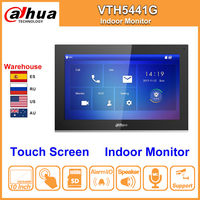 Dahua Original DHI VTH5441G Indoor Monitor 10 Inch Touch Screen Color Alarm Work with IP Video Intercom IPC Replace VTH1660CH