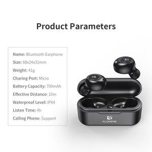 Image 5 - FLOVEME TWS 5.0 Bluetooth Auricolare Per Xiaomi Redmi Auricolari Della Cuffia Auricolare Senza Fili 3D Stereo Auricolari Audio Doppio Microfono
