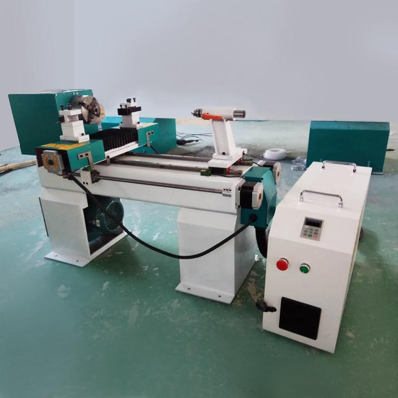 Dia 100mm Mini Cnc Lathe Machine Small Automatic Wood Cnc Lathe Machine Use For Bowl