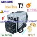 Используется ASIC Miner Innosilicon T2 17 2 T SHA256 BTC BCH Шахтер экономичный  чем Antminer S9 S17 S17e T17 T17e M20S M21S M3 T2T T3 E12