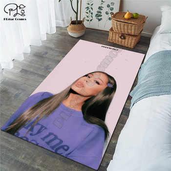 Ariana Grand carpet Square Anti-Skid Area Floor Mat 3D Rug Non-slip Mat Dining Room Living Room Soft Bedroom Carpet style-02