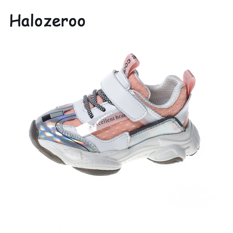 New Spring Toddler Mesh Casual Sneakers Children Sport Sneakers Baby Girls Brand White Shoes Boys Chunky Sneakers Trainers 2020
