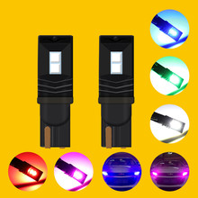 NEW T10 LED Canbus 3030-4SMD W5W 194 168 Car Indicator Lamp Clearance Lights Universal 5W 12V 480LM  w5w canbus led