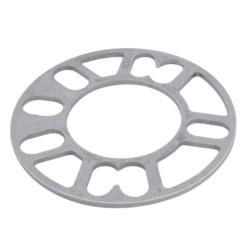 2 Pieces Universal Car Aluminum 3mm 5mm 8mm 10mm Wheel Spacer Shims Plate 4 5 STUD For 4x100 4x114.3 5x100 5x108 5x114.3 5x120