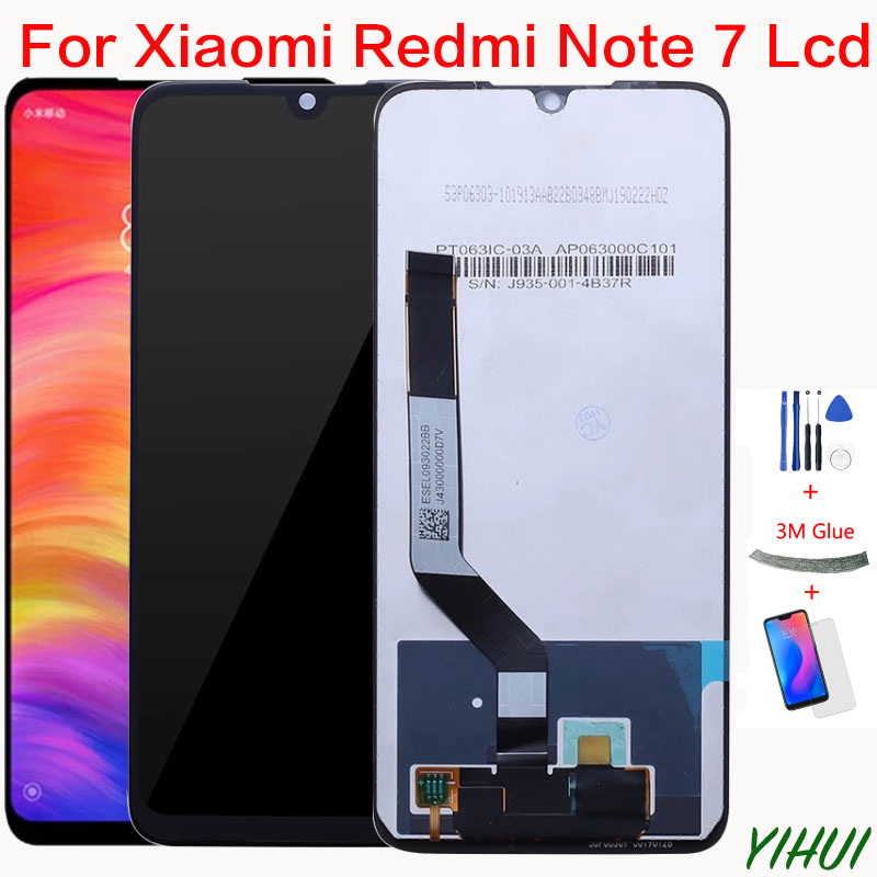 for Xiaomi <font><b>Redmi</b></font> <font><b>Note</b></font> <font><b>7</b></font> <font><b>LCD</b></font> Display Screen Touch Digitizer Assembly <font><b>Redmi</b></font> Note7 <font><b>Pro</b></font> <font><b>LCD</b></font> Display 10 Touch Repair Parts image