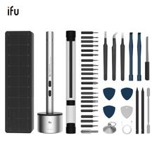 ifu Precision Electric Screwdriver Mini Cordless Set USB rechargeable 22 Bits Drill For Phones Laptop Watch Devices Repairing