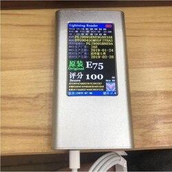 10 Pçs/lote 2m/6ft 8ic 5ic E75 Chip OD:3.0mm Cabo do carregador de Dados USB Com selo verde embalagens de varejo