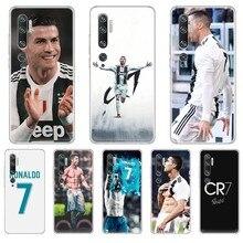 Cristiano Ronaldo CR7 Football star waterproof Transparent Phone Case For XIAOMI mi 3 4 5 5X 8 9 10 se max  pro a2 9T  note lite max star page 4