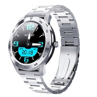 Nennbo DT98 Smart Watch Men Phone Call Dial ECG PPG Full Round Touch Screen Smartwatch Waterproof IP68 for Android IOS ksr909