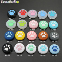 1pc From No.115-133 Cat Paw Nintend switch Joy Con Thumb Grips Caps Kawaii Silicone Case For Nintendo Switch lite controller
