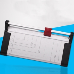 Máquina profesional de corte de papel rotatorio A3 A4, capacidad de material de oficina comercial escolar