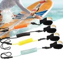 Surfing Kayak Leash Rope Boat Safe Paddle Hand Rope for Surfboard Surfing Black