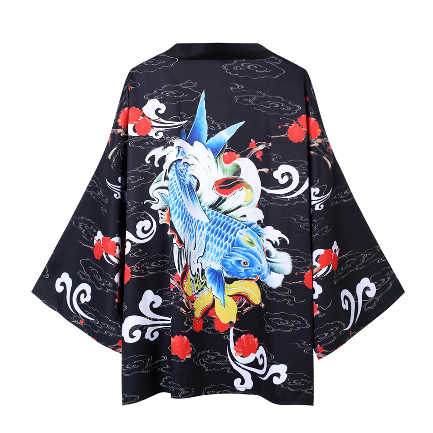 Hdb57a54e55454541b5e738c0d2cc5fd2f Men's Windbreaker Coat Autumn Long Sleeve Lovers Fashion Retro Robe Loose National Print Creative Top Outwear Plus Size M-2XL A3