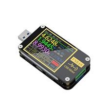 Voltímetro de FNIRSI-FNB48, amperímetro de corriente multifunción para teléfono móvil, herramienta de prueba de capacidad de protocolo de recarga rápida