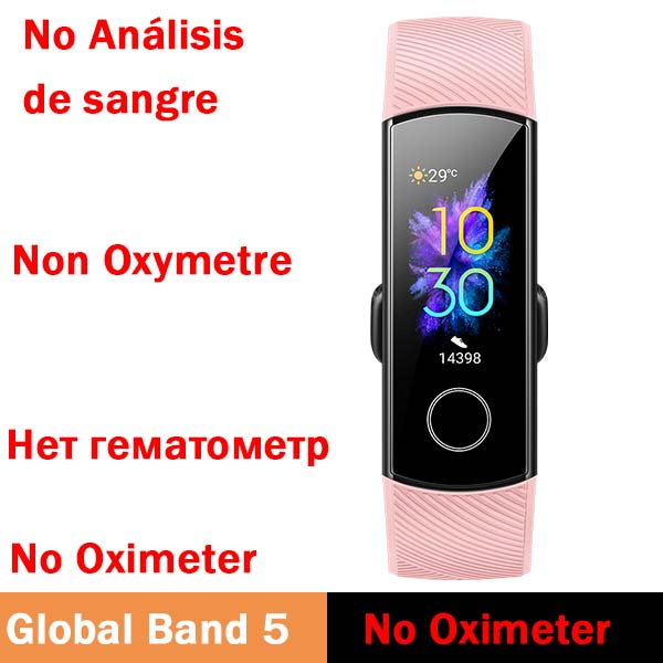 Global band 5 pink