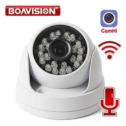 IP-камера видеонаблюдения HD 1080P купольная с поддержкой Wi-Fi и функцией ночного видения, 20 м