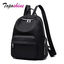 Toposhine Womens backpack Large Capacity Backpack 2019 New Fashion Oxford Travel Girls School bagpack Bags Drop Ship