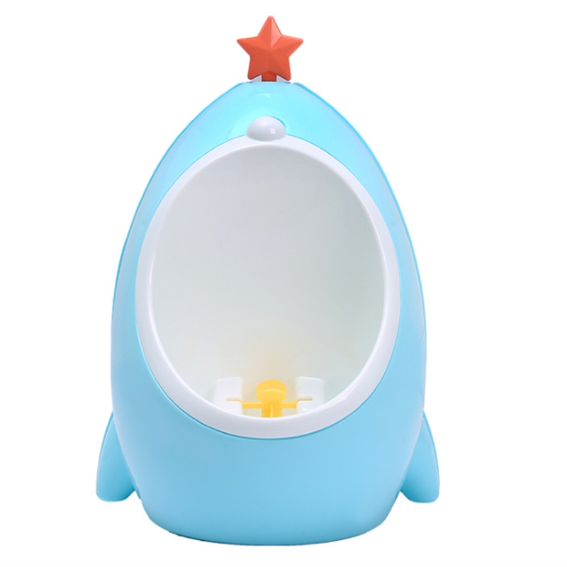 Cartoon Baby Boy Potty Toilet Training Children Stand Urinal Boys Infant Toddler Wall-Mounted Training Potty Toilet
