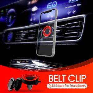 Image 5 - Telefoon Houder Voor Telefoon In Auto Air Vent Mount, voor Telefoon In Auto Air Vent Clip Mount Geen Magnetische Mobiele Telefoon Houder Gps Stand