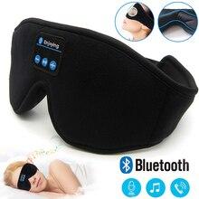 JINSERTA Bluetooth 5.0 3D Draadloze Stereo Oortelefoon Telefoon Hoofdband Slaap Zachte Oordopjes Slapen Oogmasker Muziek Headset