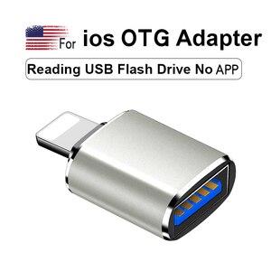 Image 2 - OTG 변환기 번개 USB 3.0 어댑터 아이폰 7 8 6 6s 플러스 11 프로 맥스 X XS XR 키트 변환기 iOS 13 버전