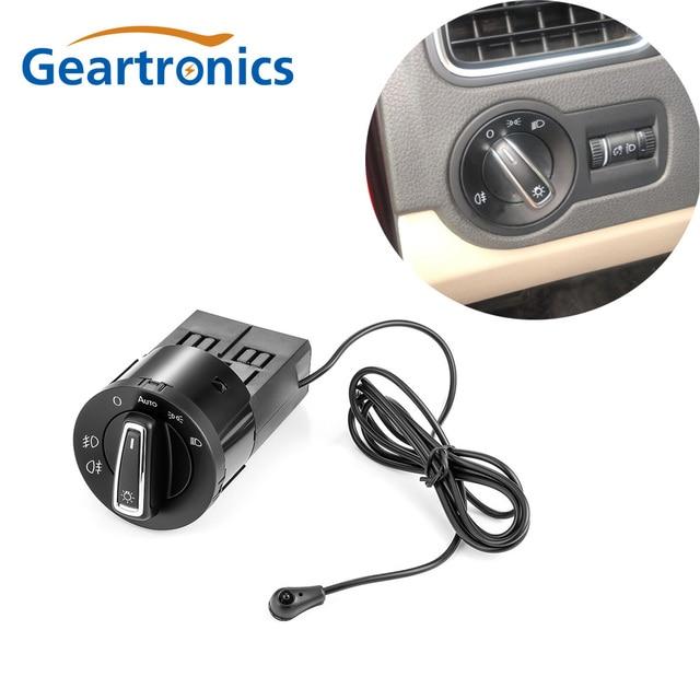 Car Headlight Switch For golf mk4 golf mk5 light Sensor Module For Volkswagen Golf Mk4 Passat Polo Bora Beetle Tiguan Touran