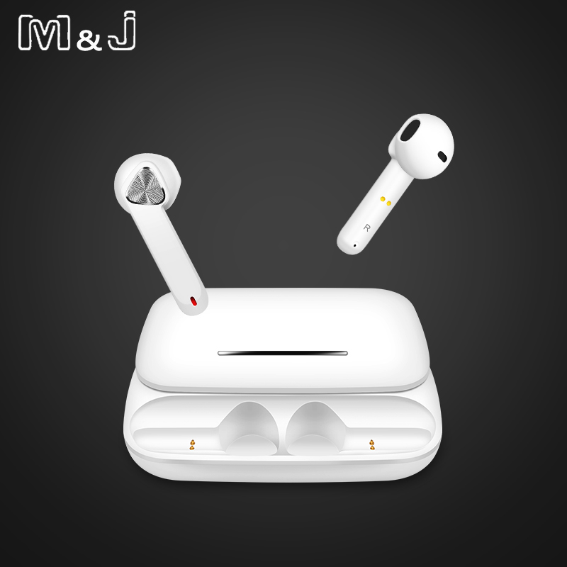 M&J <font><b>Tws</b></font> Headphone <font><b>Wireless</b></font> <font><b>Bluetooth</b></font> <font><b>5.0</b></font> <font><b>Earphone</b></font> <font><b>Mini</b></font> Earbuds With Mic Charging Box Sport Headset For <font><b>Smart</b></font> Phone pk <font><b>i12</b></font> i10 image