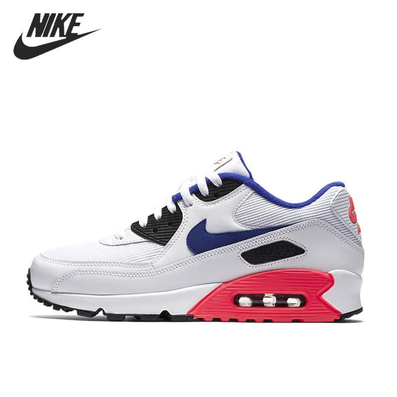 NIKE AIR MAX 90 ESSENTIAL Breathable Running Shoes For Men Sneakers Trainers 537384-136
