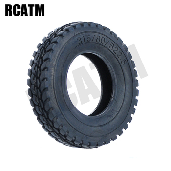 2PCS Rubber Gravel Tire 20mm With Liner For 1/14 Tamiya RC Truck Man Scania actros volvo R620 image