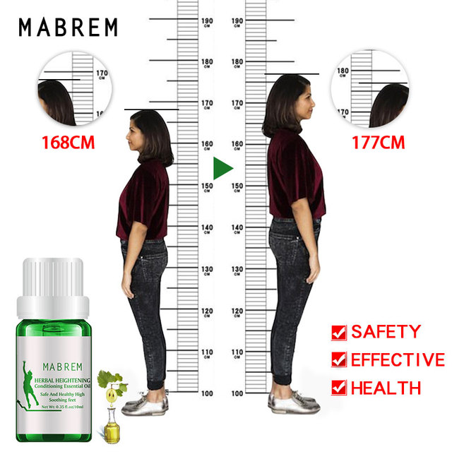 Height Increasing Oil Medicine Body Grow Taller Essential Oil Foot Health Care Products Prompt Bone Growth 1