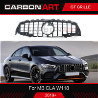 GT Grille for Mercedes w118 Front Grill for CLA 200 cla220 W118 2019 new model grille Auto Front Vertical Panamerica Grille
