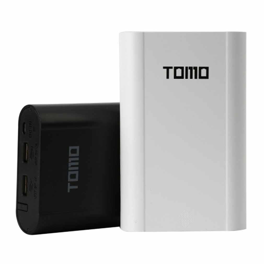 TOMO Cerdas Portable 18650 Baterai Li-ion DIY Mobile Power Bank Smart Charger Dual USB LCD Layar